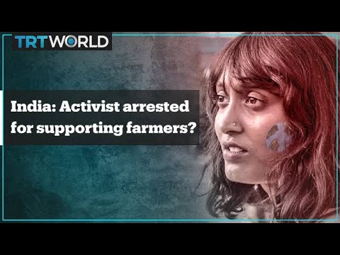 Indian activist arrested over farmers' protests 'toolkit' shared by Greta Thunberg