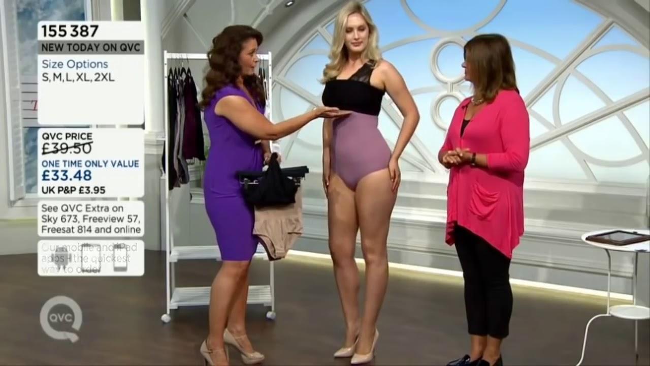 3d724c5dc4 QVC UK Model Jess modelling Vercella Vita Shapewear 160615 - YouTube