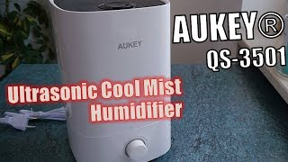 Aukey QS-3501 Test Ultraschall Luftbefeuchter - Hands-on (Deutsch)