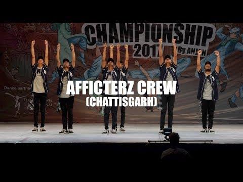 AFFLICTERZ CREW (CHATTISGARH) (ADULT DIVISION) - INDIAN HIP HOP DANCE CHAMPIONSHIP 2017