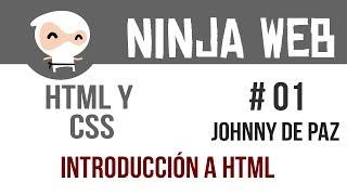 HTML y CSS - Continuación Introducción a HTML-Clase 01