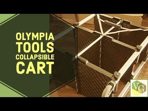 olympia-tools-collapsible-service-cart,-xl- -video-photo-production