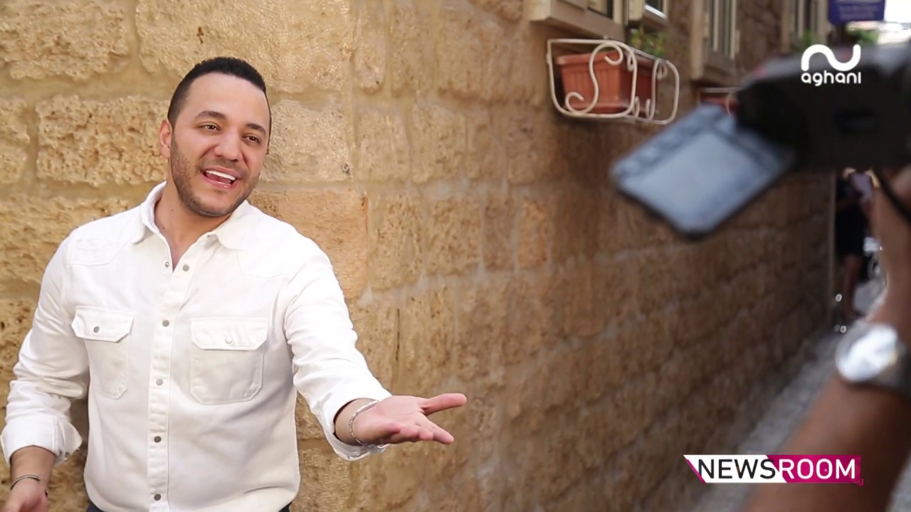 أغاني أغاني تنفرد بكواليس كليب حسين الديك