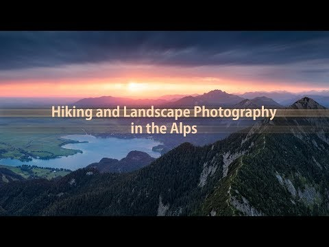 Hiking and Landscape Photography in the Alps