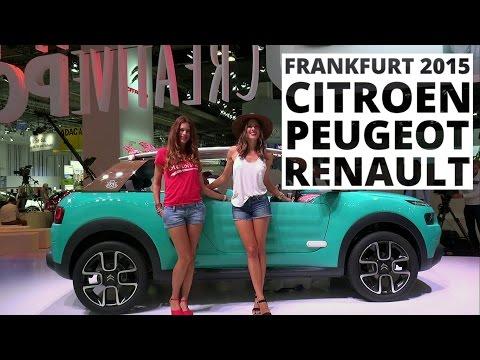 Frankfurt 2015 - Citroen, Peugeot, Renault