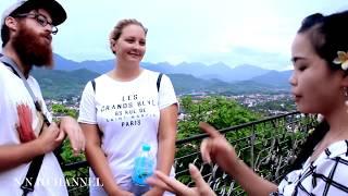 Daolidkas to visit luangprabang laos (coj hluas nkauj nplog mus ncig night market