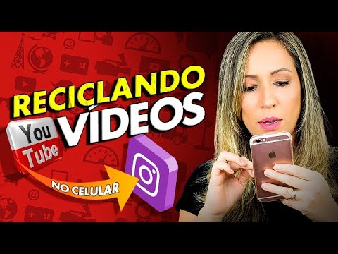 Como CONVERTER VIDEOS do YouTube para o Instagram PELO CELULAR por Luana Franco
