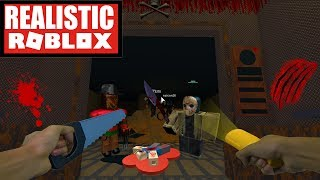 Realistic Roblox - The Horror elevator - Escape The Horror Elevator in ROBLOX!