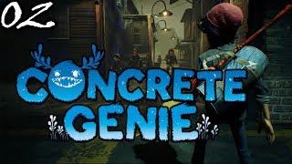 Port Rybacki #2 Concrete Genie PS4   PL   Gameplay   Zagrajmy w