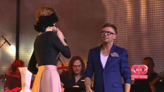 """Dainų daina: M. Jampolskis ir Ieva Prudnikovaitė atlieka G. Zujaus dainą """"Tai netiesa"""""""