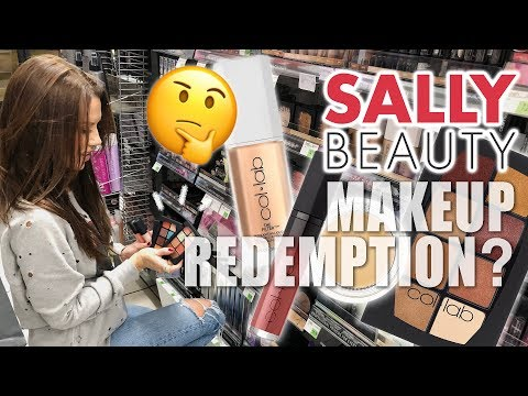 SALLY'S BEAUTY ... MAKEUP REDEMPTION??? 🤔