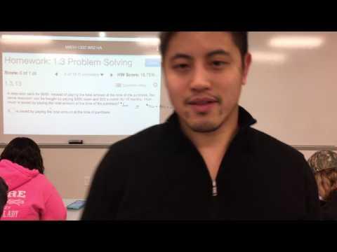 MATH 1332 - 1.3 - Problem Solving