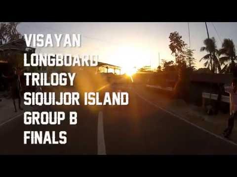 Gene Nillas Jr Raw Run - Siquijor Group B Finals - Visayan Longboard Trilogy