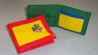 How to Make a Duct Tape Wallet - EP