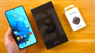 Samsung Galaxy S21 Plus - Unboxing & First Impressions!