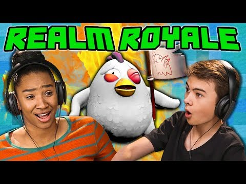 REALM ROYALE (React: Gaming)
