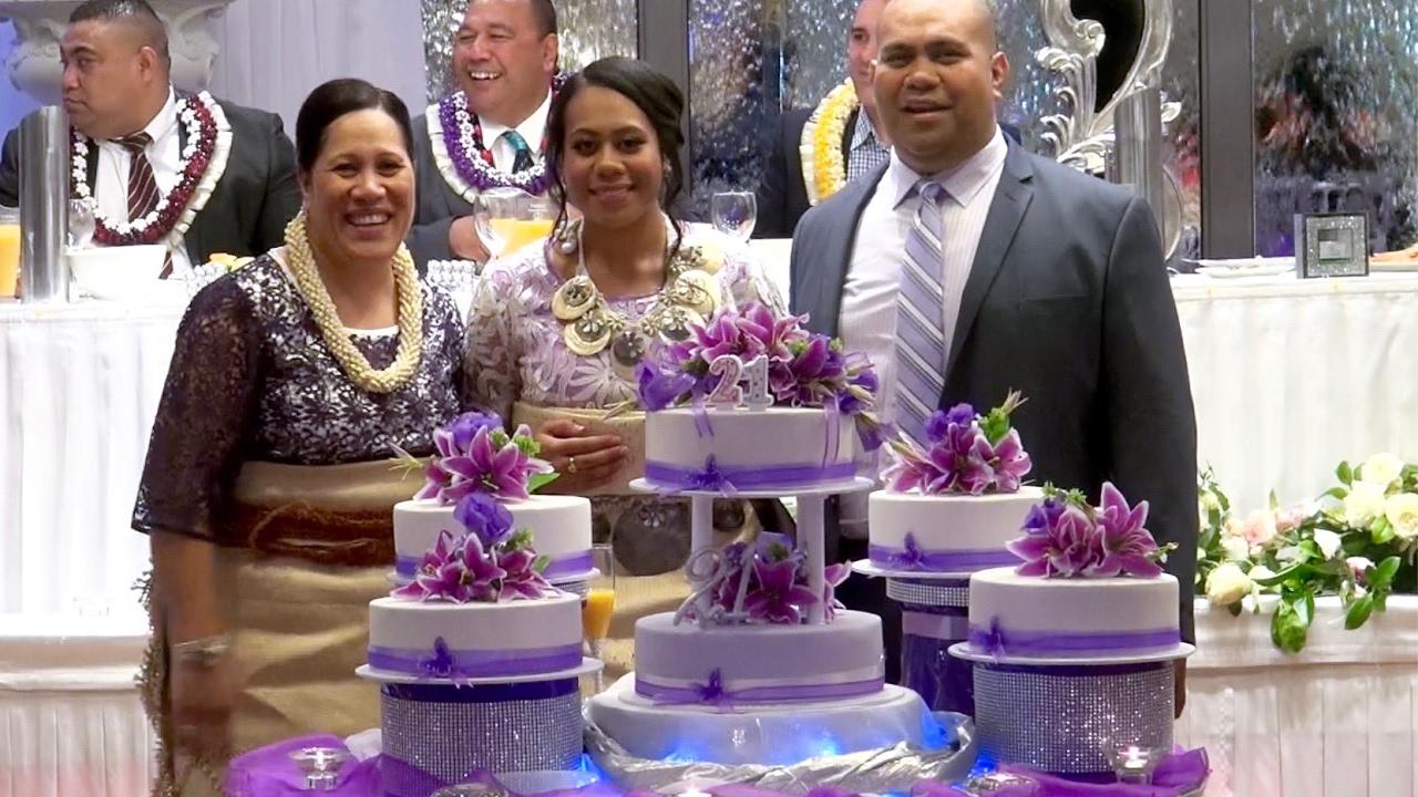 Mele Taufa Lokotui 21st Birthday Key Cakes Gifts Presentation