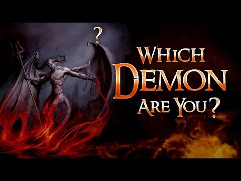 What Kind Of Demon Are You? l Personality Test