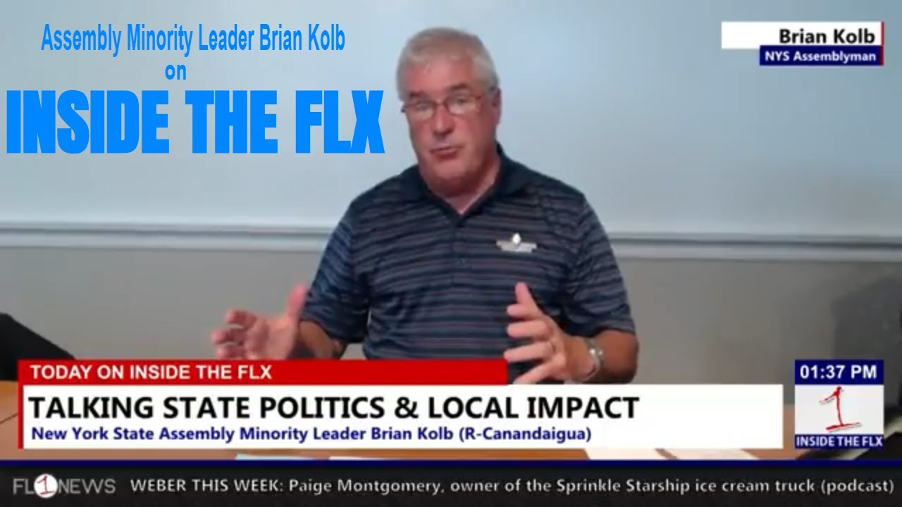 Assembly Minority Leader Brian Kolb talks NYS, Gridlock, & More .::. Inside the FLX 7/16/18