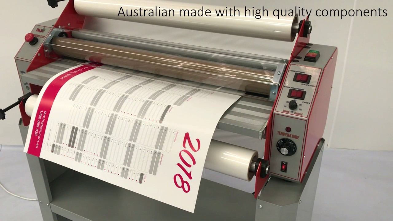 econolam pro poster laminator from lamination system