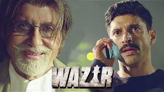 फरहान की अमिताभ को बचाने की कोशिश   Farhan Akhtar   Amitabh Bachchan   Wazir