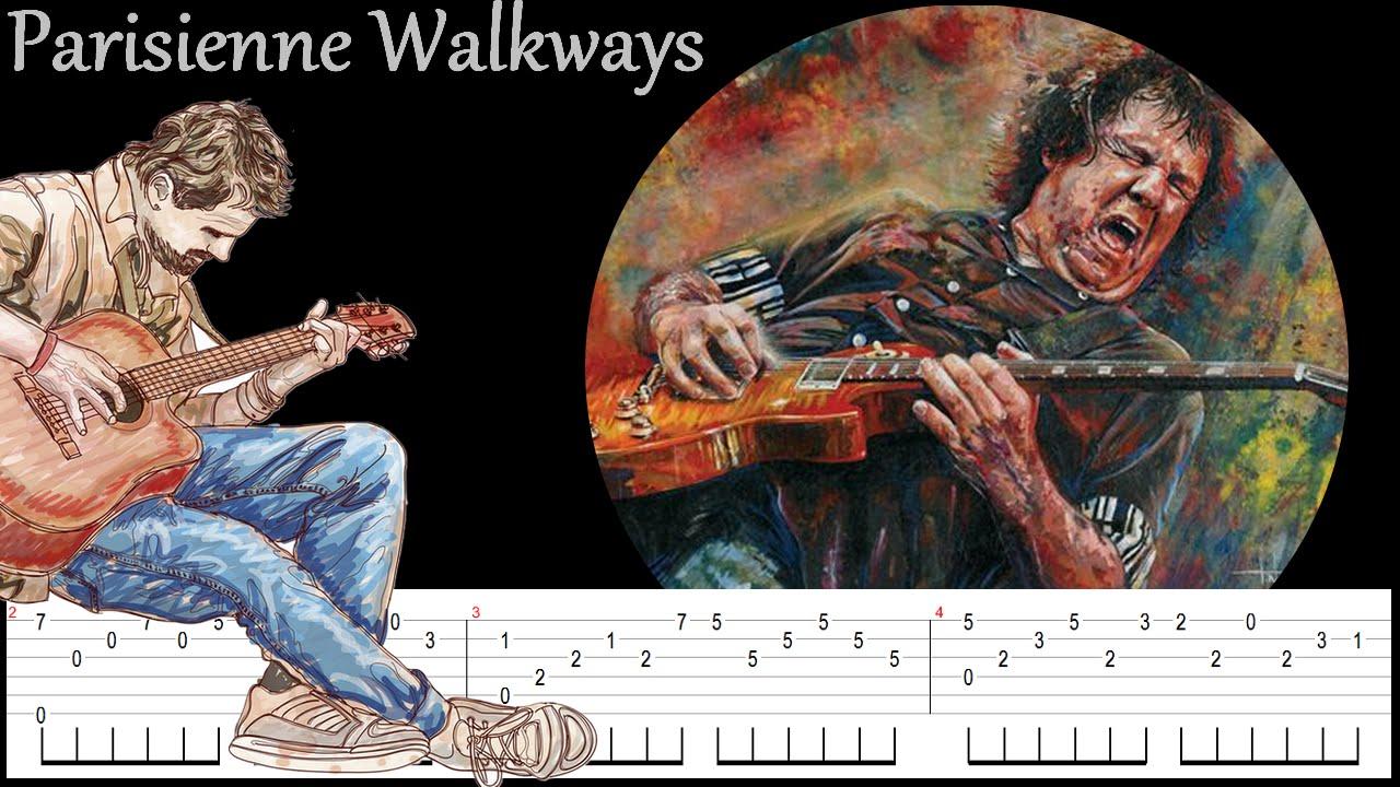 Parisienne Walkways Gary Moore Fingerstyle Tab And Tuto Guitar
