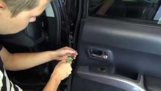 Разборка двери на Mitsubishi Outlander
