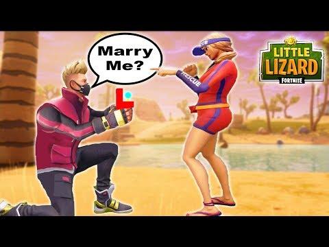 DRIFT & SUN STRIDER ARE GETTING MARRIED!!! - Fortnite Short Film