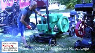 """Silnik """"Güldner GL32"""" w zbiorach Muzeum Rolnictwa w Ciechanowcu"""