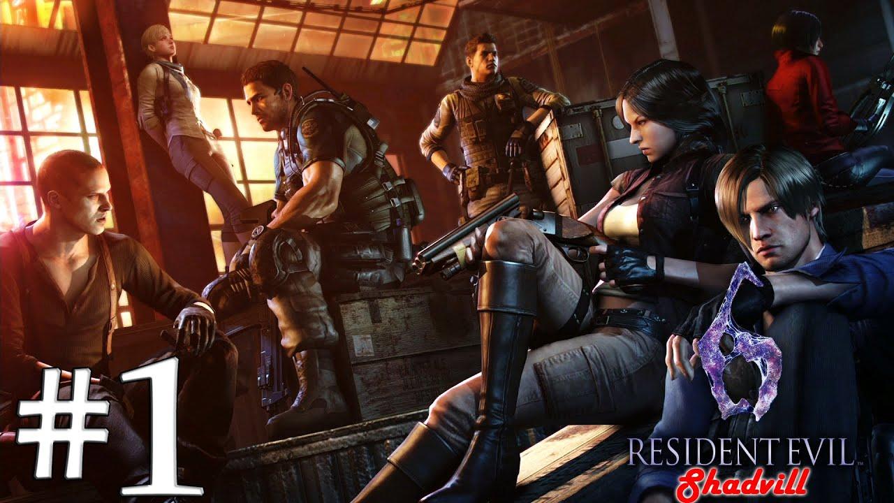 Leon S Kennedy Hd Wallpaper Resident Evil 6 Ps4 Прохождение игры 1 Леон и Хелена