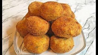 Картофельные Крокеты / Potato Croquettes / Картофельные Шарики / Простой Рецепт
