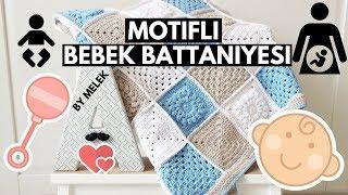 Motifli Bebek Battaniyesi 1