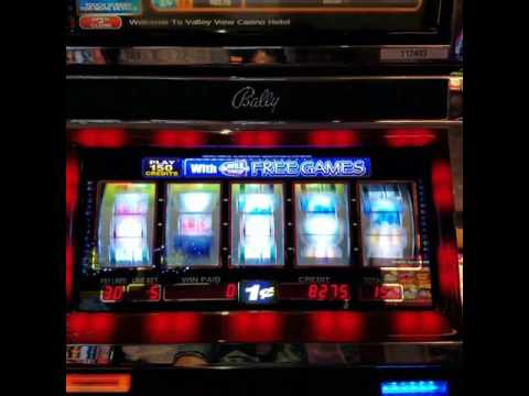 Valley View Casino: Wild Encounters slot machine bonus max bet