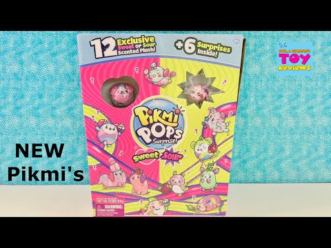 Pikmi Pops Sweet & Sour 12 Exclusive Plush Toy Unboxing | PSToyReviews