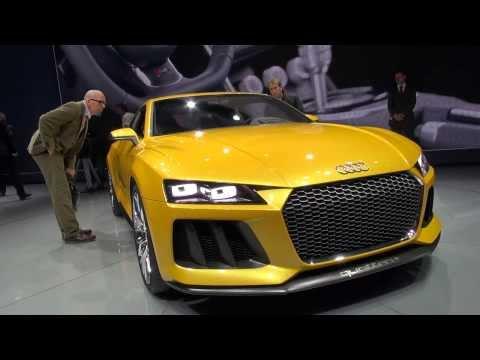 Audi Sport Quattro Concept exterior and interior incl. instrument in detail Frankfurt 2013 IAA