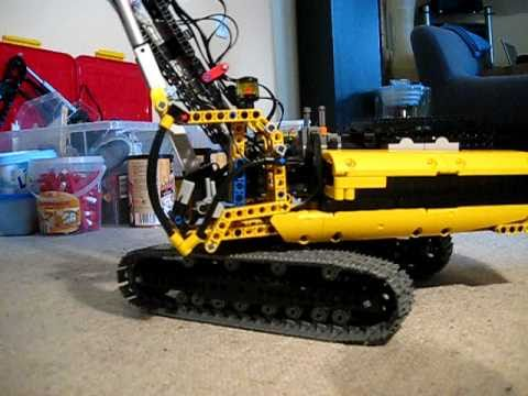 lego technic caterpillar 385c uhd kettenbagger excavator. Black Bedroom Furniture Sets. Home Design Ideas