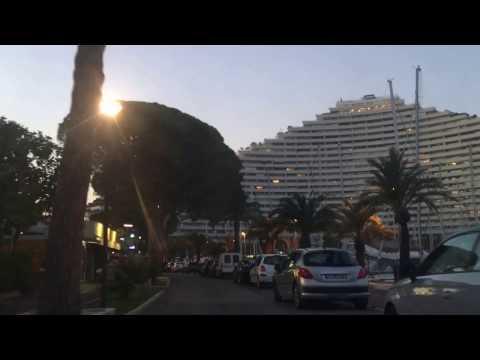 vlog 1 visite côte d'azur Marina Baie des Anges entre Cannes et Nice en voiture balade 15 03 2017