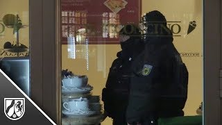 GSG9 bei Großrazzia gegen italienische Mafia im Einsatz