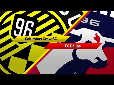 Highlights: Columbus Crew SC vs. FC Dallas   August 26, 2017