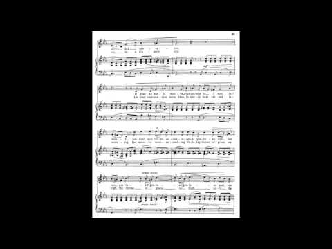 8 Vergin, tutto amor (from 24 Italian Songs) piano melody with accompaniment