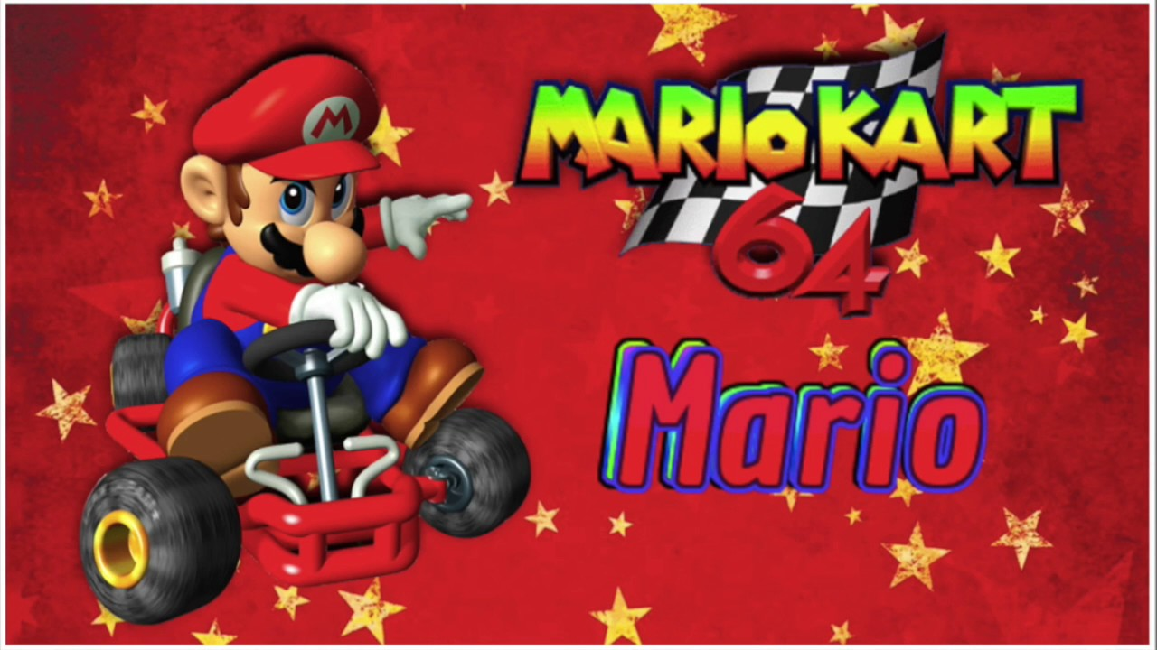 N64 Mario Kart 64 Mario Voice Updated