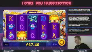 100 EURO W 4 MINUTY/ Jak wygrac w kasyno online? LUCKY HALLOWEEN! hazardowekasynopolska