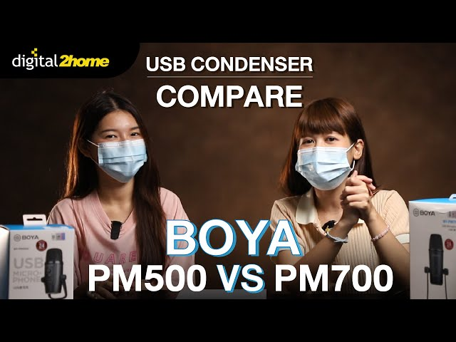 Boya PM500 Vs Boya PM700