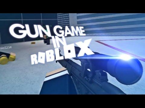 Gun Game In Roblox Youtube