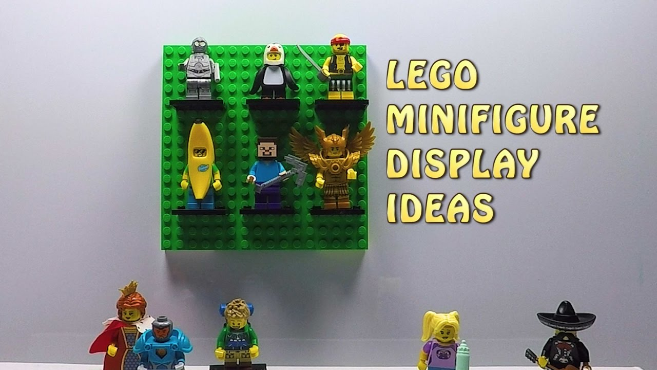 Lego Minifig Camera : 3 lego minifigure display ideas you need to know lego life hacks