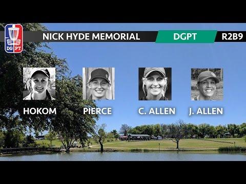 2017 DG Pro Tour - Nick Hyde Memorial - Sarah Hokom, Paige Pierce, Catrina Allen, Jen Allen (R2B9)