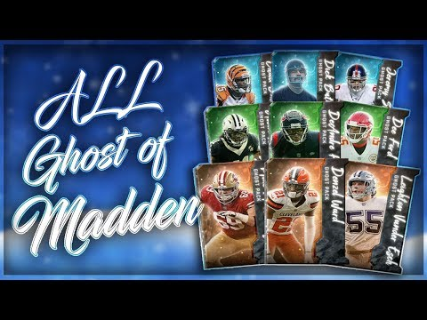 ALL GHOST OF MADDEN BOSSES!! MADDEN OVERDRIVE 95 OVR GAMEPLAY UNREAL FINAL CATCH!!