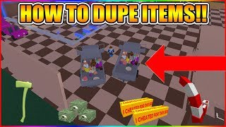 HOW TO DUPE ANY ITEMS! (NEW DUPE METHOD!) [NOT PATCHED!] LUMBER TYCOON 2 ROBLOX