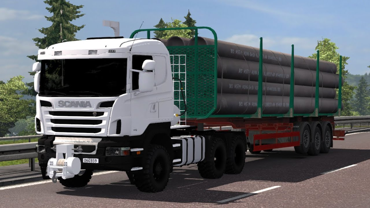 1 30 Euro Truck Simulator 2 Turkish Military Truck Scania Hema