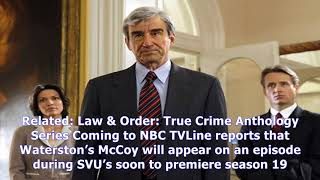 MTV News - Sam waterston's jack mccoy will appear on law & order svu this season